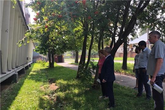 В Чувашской республиканской специальной библиотеке имени Л.Н. Толстого идут ремонтные работы