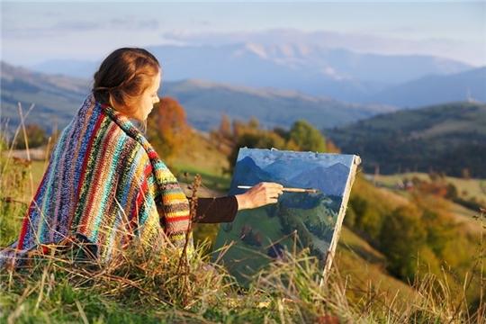 Состоится женский пленэр чувашских художниц «Мир цвета глаз женщины»