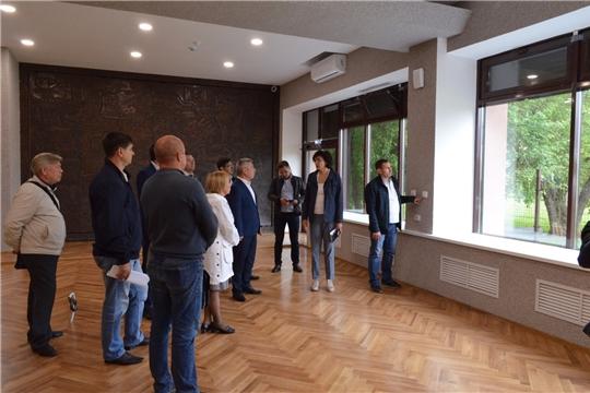 Завершаются ремонтные работы в здании Музея В.И. Чапаева