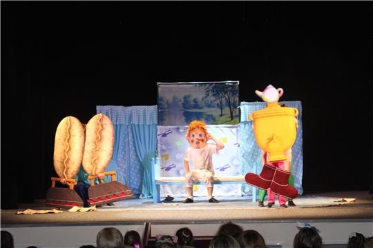 В Чувашском государственном театре кукол с аншлагом прошла премьера спектакля «Мойдодыр»