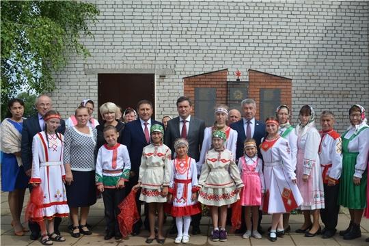 Иван Моторин ознакомился с реализацией проекта «Культура малой Родины» в Мариинско-Посадском районе