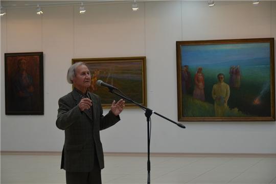 В Чувашском государственном художественном музее открылась выставка народного художника Чувашии Николая Енилина