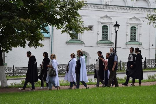 В Чебоксарах состоялась презентация нового туристского проекта «Городские легенды»