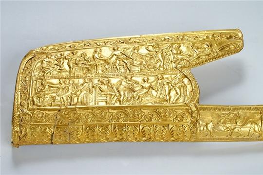 Золотые украшения амазонок привезли на выставку в Чувашию из Ростовской области