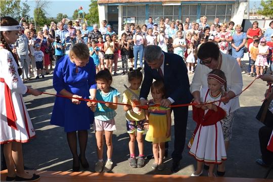 Состоялось торжественное открытие Новоайбесинского сельского Дома культуры Алатырского района после капитального ремонта
