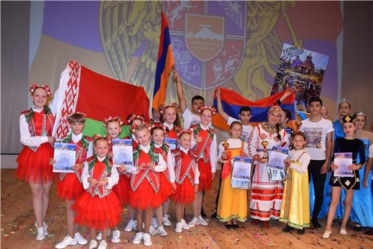 Успех чувашских самодеятельных артистов на VI Международном фестивале-конкурсе «Паруса надежды» в Санкт-Петербурге