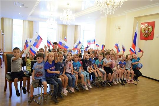 День Государственного флага Российской Федерации в Национальной библиотеке