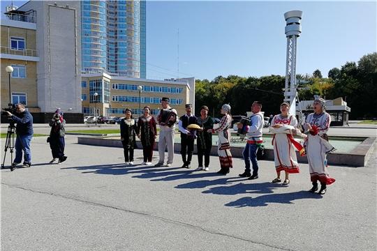 Город Чебоксары посетили участники XXIX Дней татарской молодежи