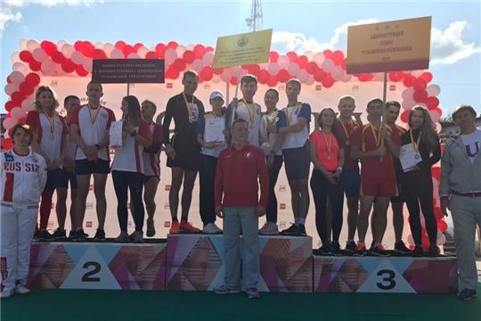 Команда Минкультуры Чувашии заняла первое место в легкоатлетической эстафете газеты «Советская Чувашия»