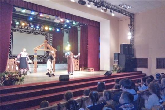 Продолжаются гастроли чувашских кукольников в Республике Башкортостан