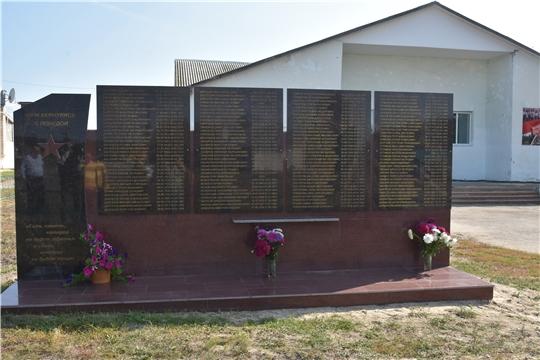 В Чувашии в 2015-2019 годах открыто 195 мемориальных объектов, посвященных Великой Отечественной войне и локальным конфликтам