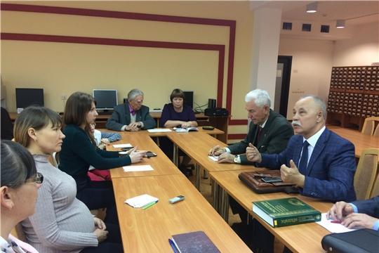 Союз профессиональных писателей Чувашской Республики провел Обучающий семинар-встречу известных писателей современной чувашской литературы и молодых авторов
