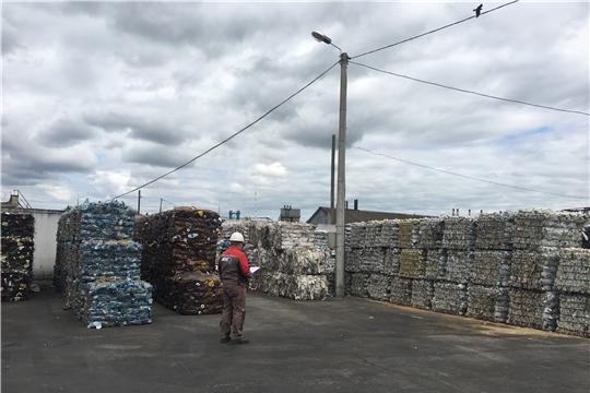 На концессионных объектах в Чувашии за 6 месяцев отсортировали 1000 тонн пластика и пленки