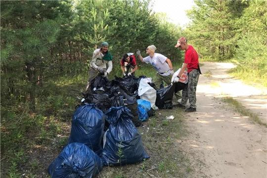 Филиал АО «Управление отходами» принял для сортировки более 800 кг отходов, собранных детьми на берегу реки Большая Кокшага