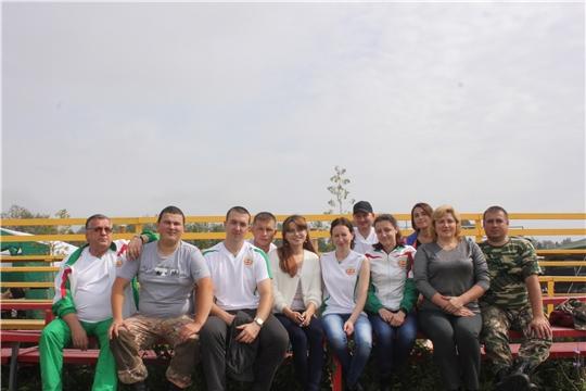 Команда Минприроды Чувашии приняла участие в Спартакиаде работников госвласти и местного самоуправления