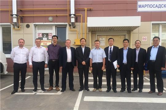 Китайская делегация посетила концессионный объект АО «Управление отходами» в Чувашской Республике