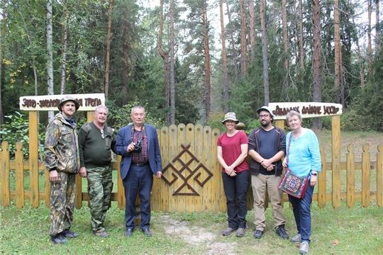 Российско-американская экспедиция в национальном парке «Чăваш вăрманĕ»