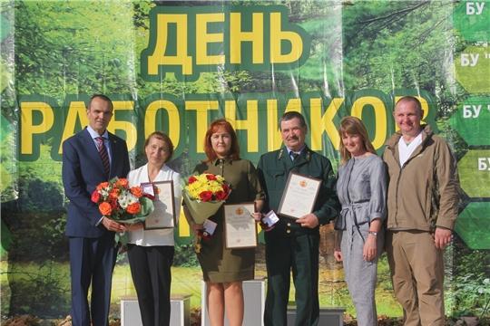 Профессиональный праздник отметили работники лесной отрасли