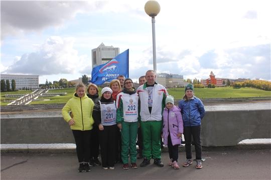 Команда Минприроды Чувашии приняла участие в забеге «Кросс Нации - 2019»
