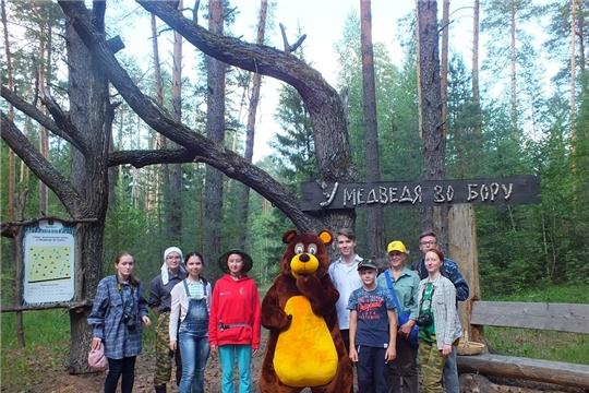 В национальном парке «Чăваш вăрманĕ» ведется работа детской полевой экологической экспедиции «Школа дикой природы»