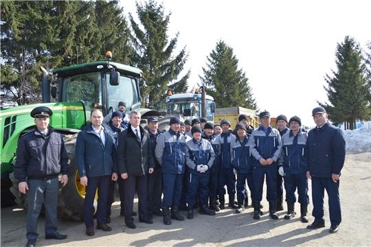 Техосмотр сельскохозяйственной техники идет в хозяйствах Красноармейского района