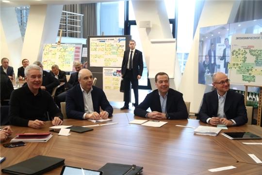 Глава Чувашии принял участие в работе семинара «Национальные проекты – этап «реализация»