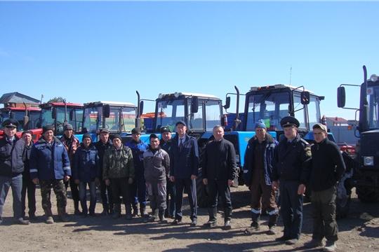 В хозяйствах Канашского района проходит техосмотр