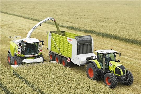 Темпы приобретения сельхозтехники в нынешнем году в республике в 2,8 раза превышают прошлогодний уровень
