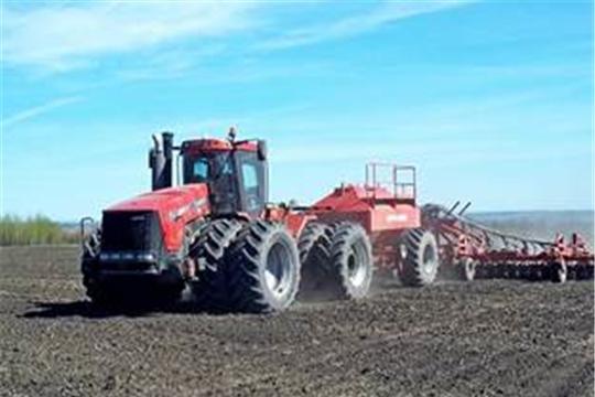 Темпы весенних полевых работ опережают показатели прошлого года