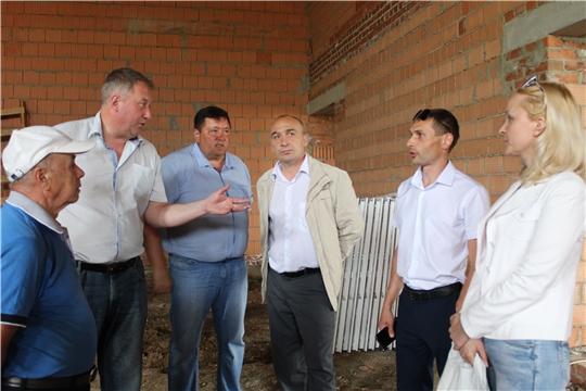 В поселениях Канашского района строятся объекты социальной инфраструктуры
