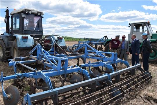 Весенне-полевые работы в Красночетайском районе приближаются к финишной черте.