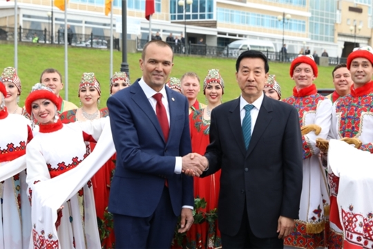 В Чувашию прибыла официальная делегация из Китая