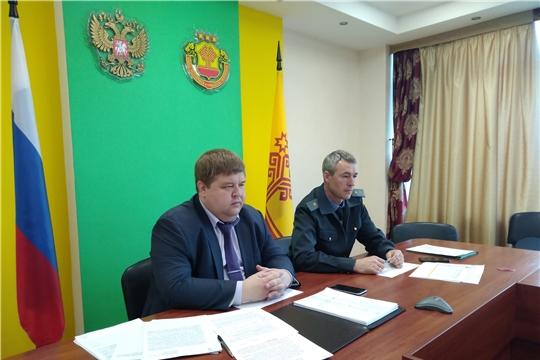 И.о. министра Д. Паспеков принял участие в селекторном совещании с руководством Минсельхоза России