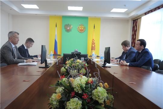 Встреча с генеральным консулом Венгрии Адамом Штифтером