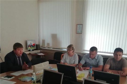 Заместитель министра Денис Паспеков провел совещание по предварительным итогам ярового сева