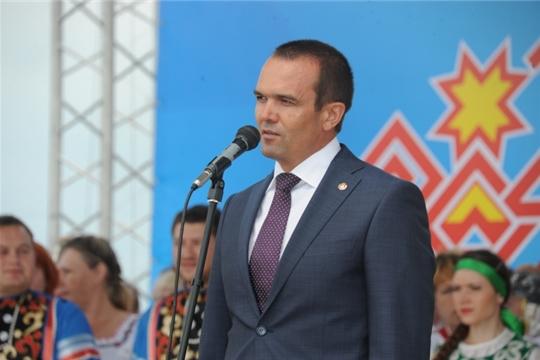 Поздравление Главы Чувашской Республики Михаила Игнатьева с праздником «Акатуй»