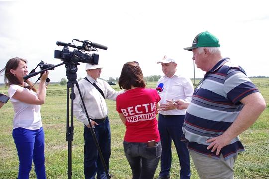 Сергей Артамонов рассказал журналистам республиканских СМИ об итогах весенней посевной