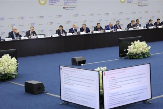 ПМЭФ-2019: Михаил Игнатьев принял участие в работе консультативной комиссии Госсовета России