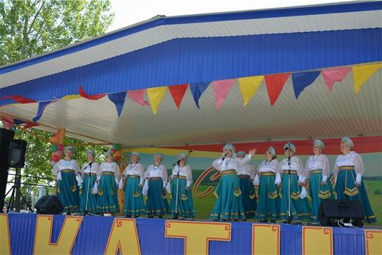 В Вурнарском районе отпраздновали национальный праздник «Акатуй»
