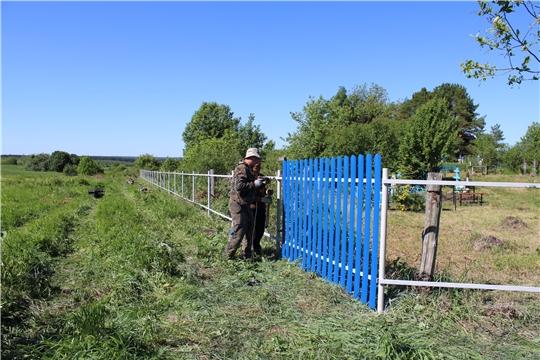 Инициативы жителей Шемуршинского района воплощаются в жизнь