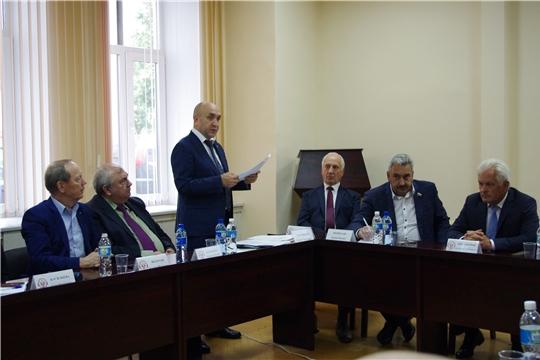 Встреча с членами Общественной палаты республики