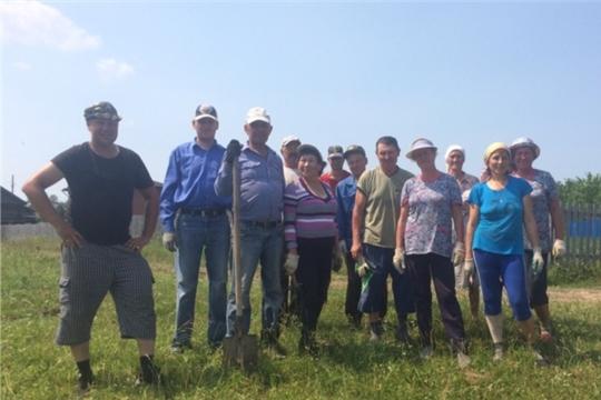Жители Вурнарского района сами ремонтируют дороги