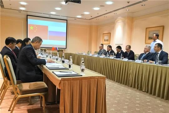 Делегации Чувашской Республики и провинции Сычуань Китайской Народной Республики провели плодотворную встречу
