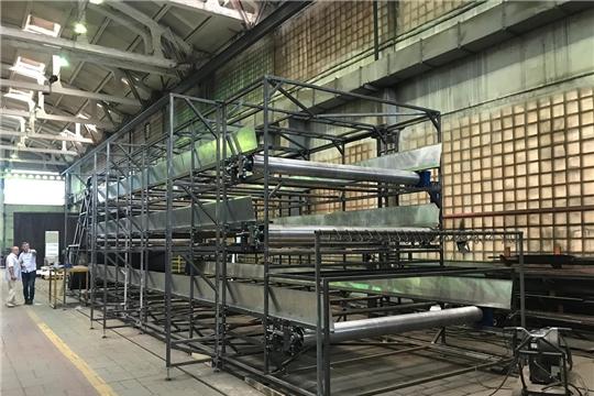 На 41 Центральном заводе железнодорожной техники идет работа по изготовлению хмелесушилки для хмелеводов Чувашии