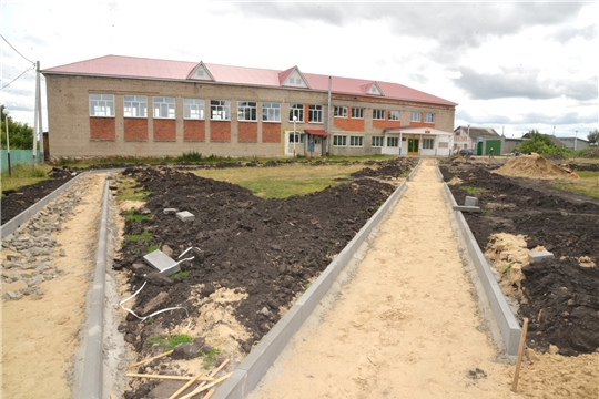 В Батыревском районе реализуются проекты развития социальной инфраструктуры сел и деревень