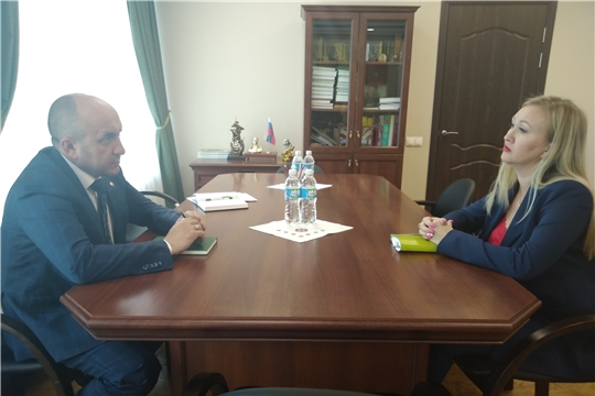 В Минсельхозе Чувашии состоялась рабочая встреча с представителем компании - производителя премиксов и комбикормов