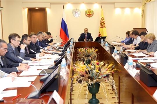 Михаил Игнатьев провел очередное заседание Комиссии по противодействию незаконному обороту промышленной продукции в Чувашской Республике