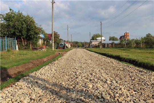 В сельских поселениях Канашского района завершается ремонт дорог