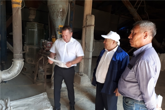 Продовольственный фонд Чувашской Республики готов к приему зерна нового урожая