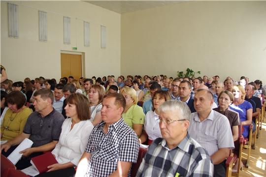 Сергей Артамонов принял участие в подведении итогов социально-экономического развития Ибресинского и Вурнарского районов